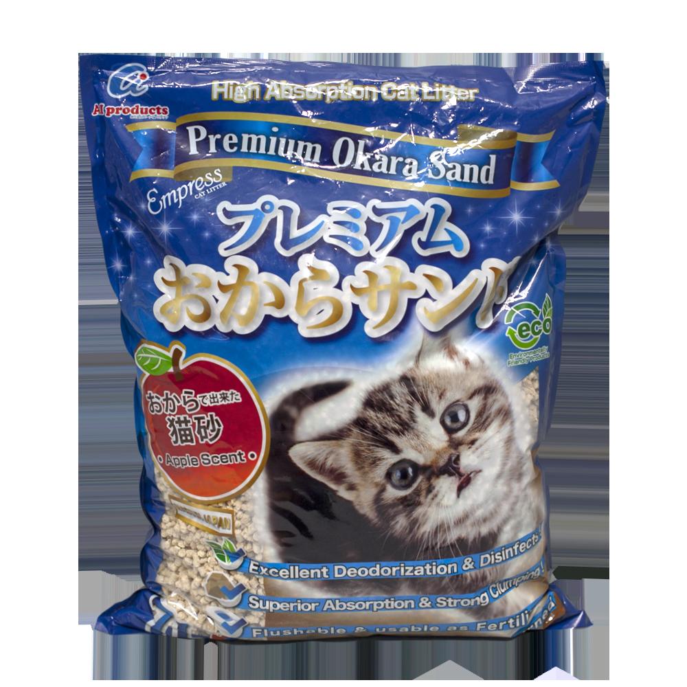 Empress Premium Okara Sand Cat Litter