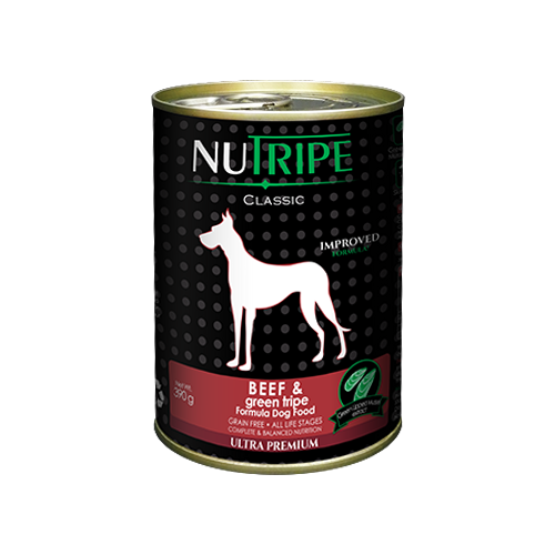 Nutripe Beef and Green Lamb Tripe For Dogs