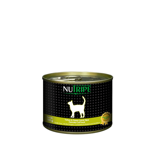 Nutripe Turkey and Green Lamb Tripe For Cats