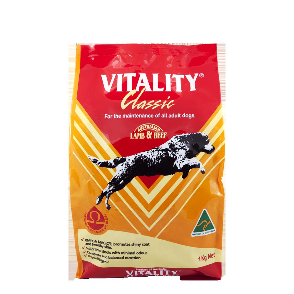 Vitality Classic Dog Food