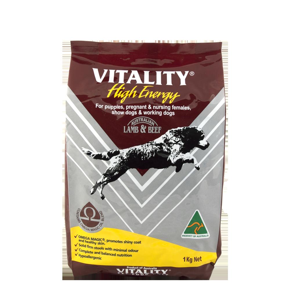 Vitality High Energy Dog Food