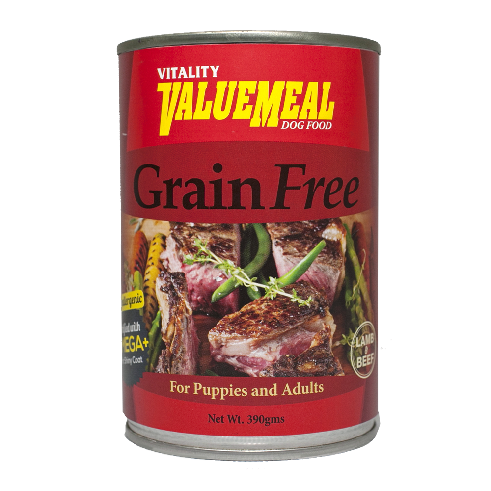 Vitality ValueMeal Grain Free Canned Dog Food