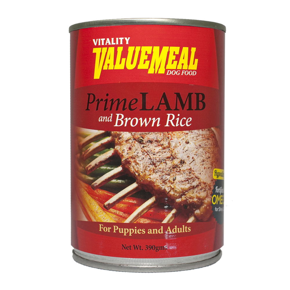Vitality ValueMeal Prime Lamb Canned Dog Food