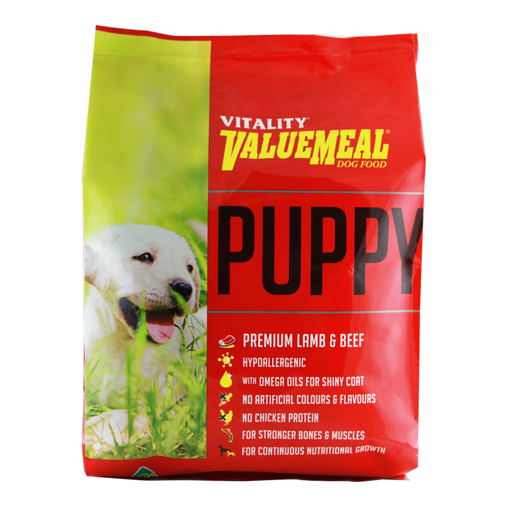 Vitality ValueMeal Puppy Dog Food