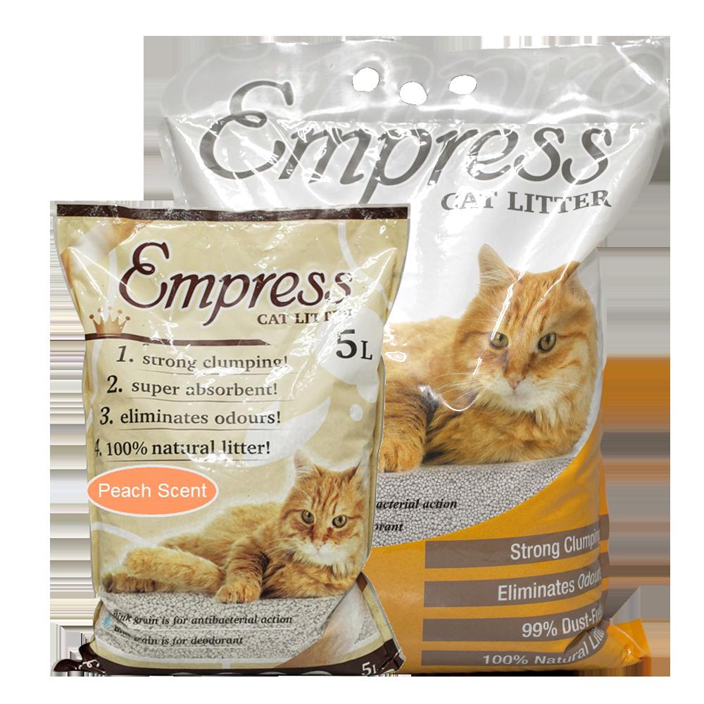 Empress Peach Scent Cat Litter